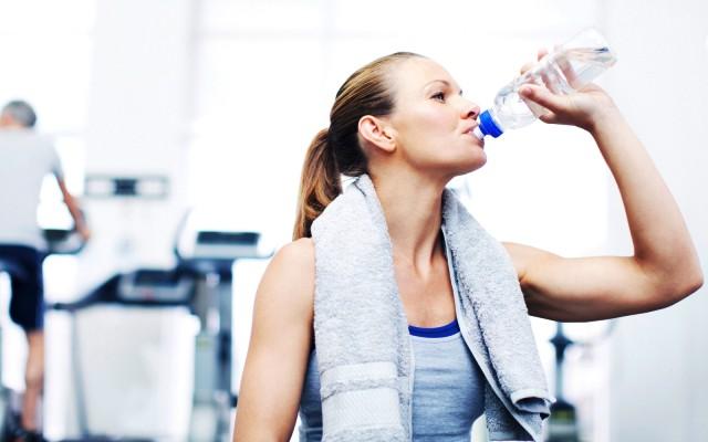 Сколько пить воды на сушке