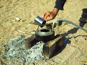 Поддержание необходимого уровня воды при выпаривании